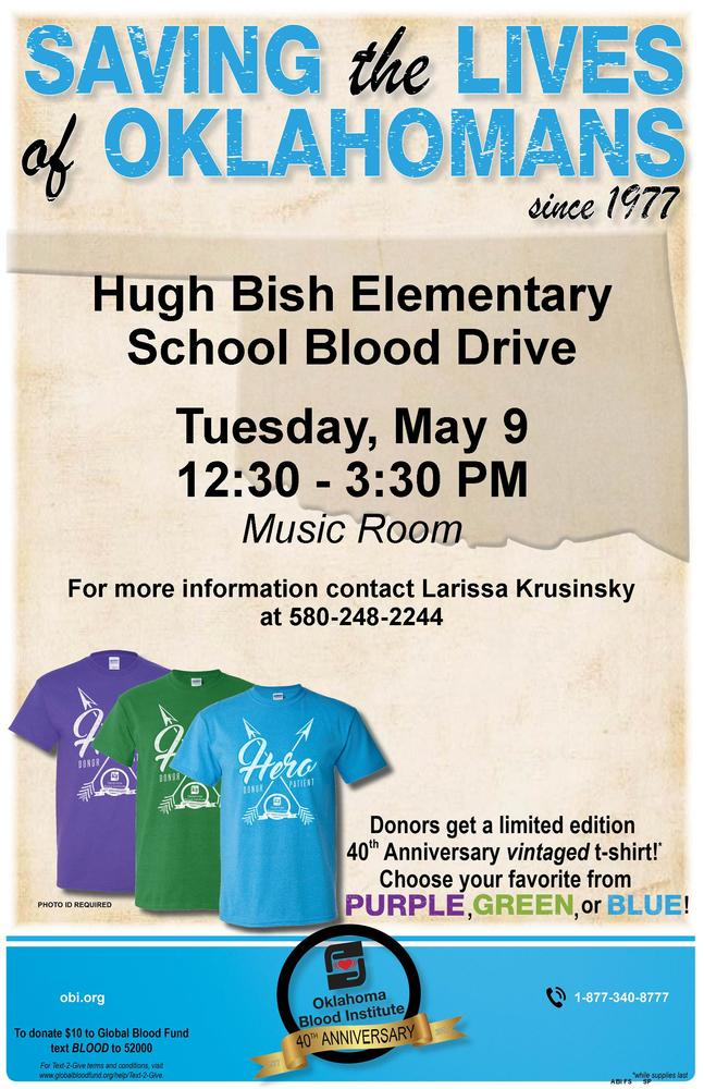 Hugh Bish Blood Drive