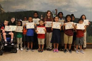 Students of the Month for August