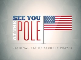 See You at the Pole! Wednesday, September 27th at 8:00 AM