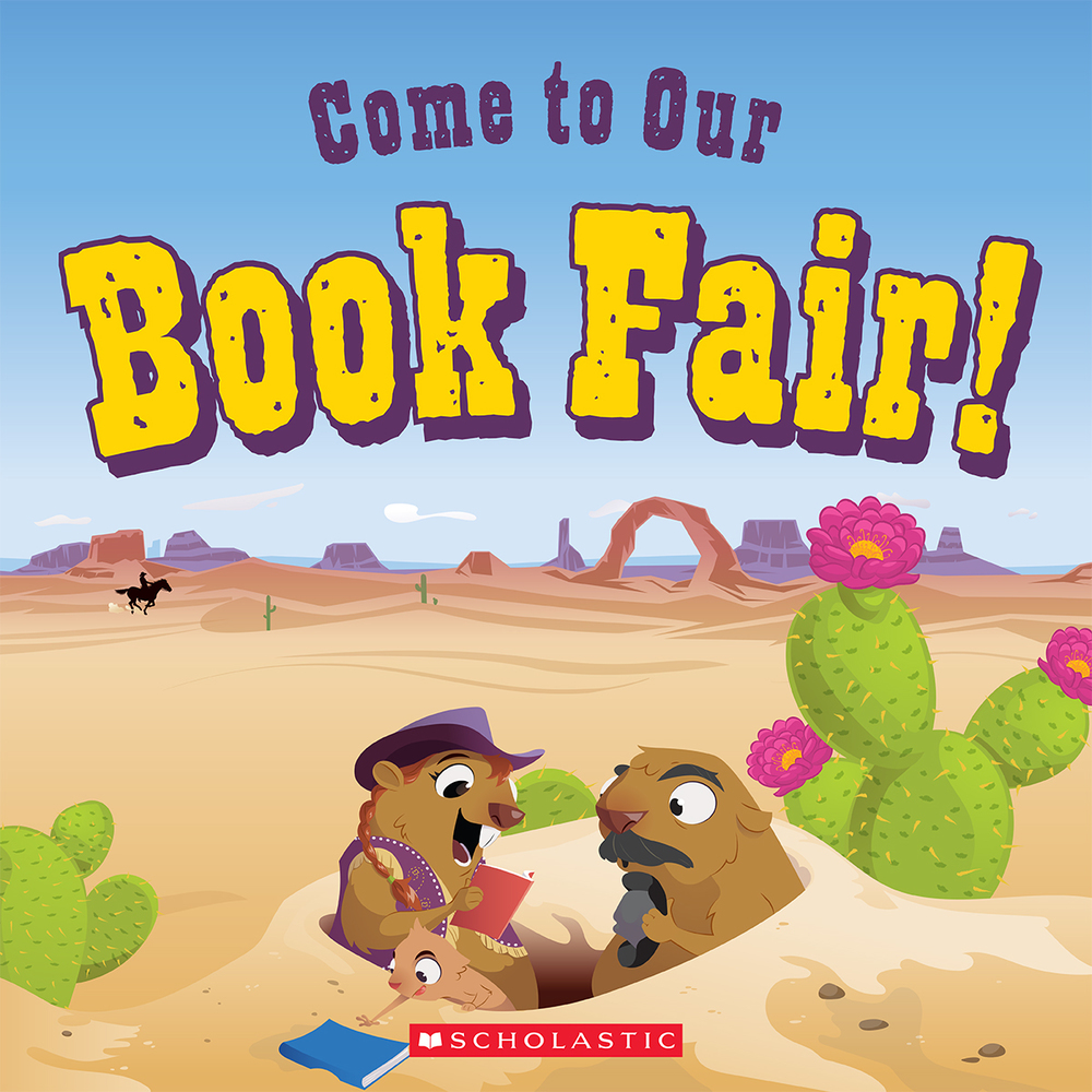 Our book fair will be here soon!