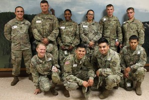 Ft. Sill men and women volunteer