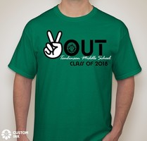 8th Graders order your t-shirts now!