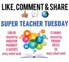 SUPER Teacher Tuesday