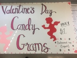 Valentine's Day Candy Grams for Sale!
