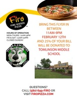Support TMS @ Firo  on Feb. 12!