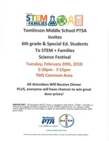 TMS STEM Night Feb. 20