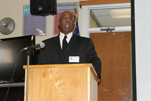 Rev. Steven Patterson visits Hugh Bish