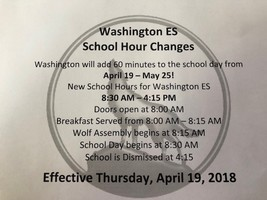 BOE Approved School Hours