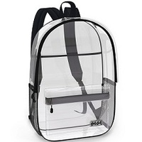 MMS recommends transparent backpacks