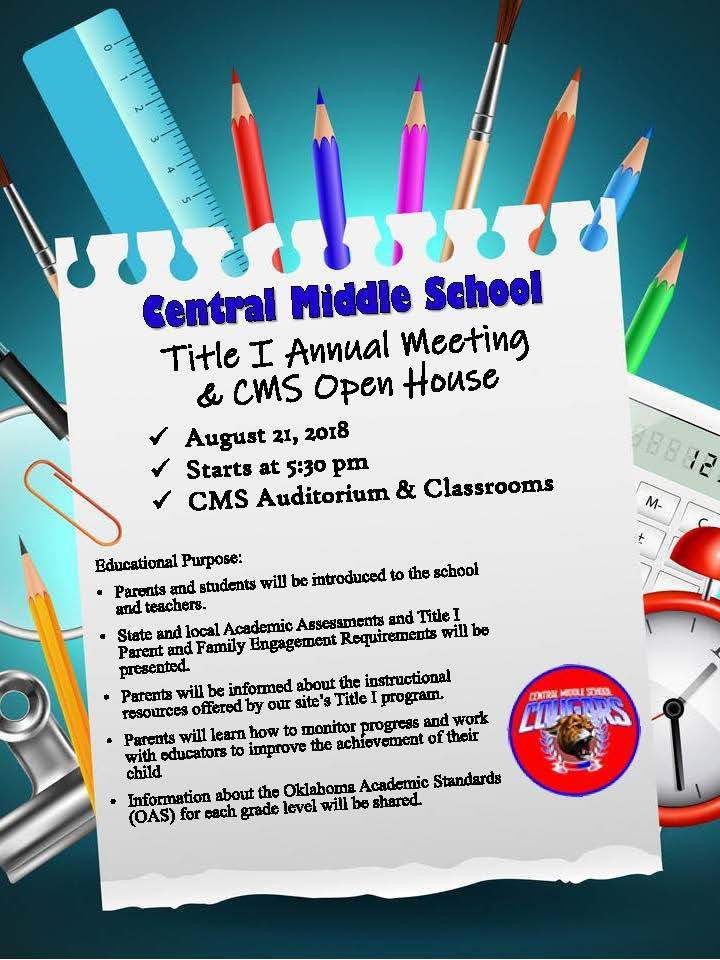 CMS Title I Annual Meeting