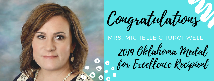 Congratulations Mrs. Churchwell