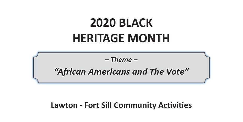 2020 Black Heritage Month