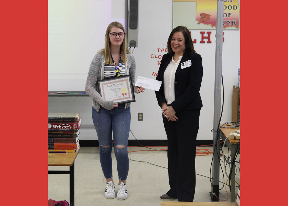 LHS: Hollifield Places in Essay Contest