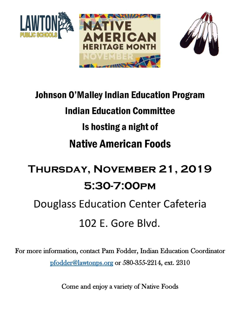 Indian Education Program: Native American Foods