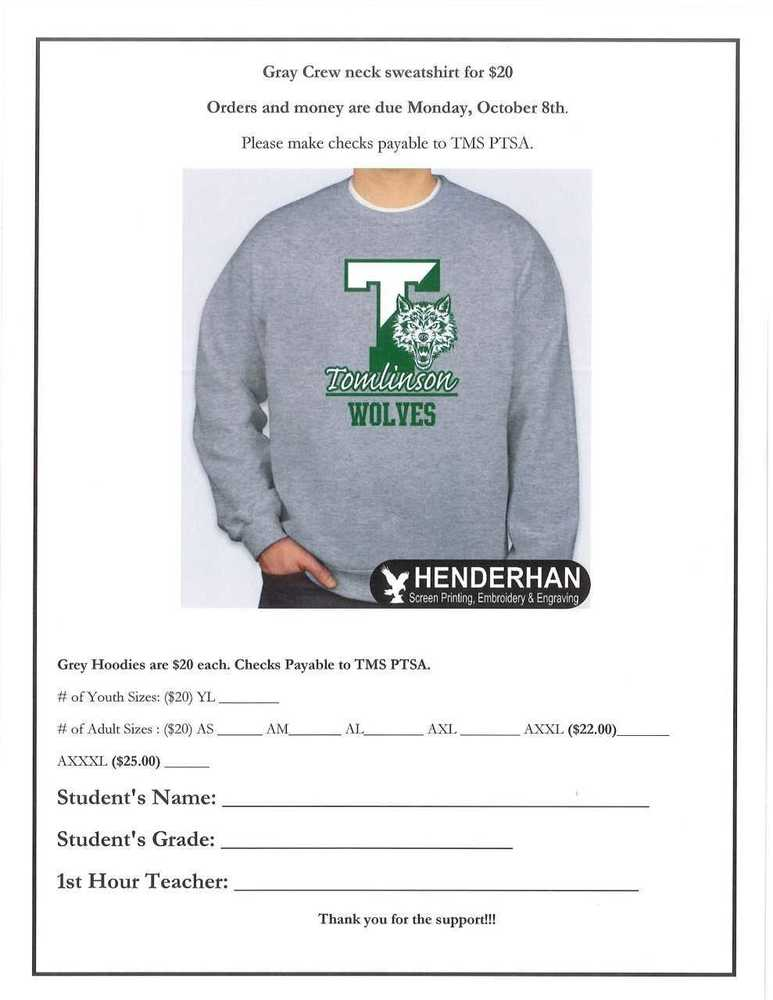 TMS Sweatshirt for SALE!