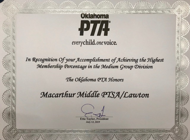 MMS PTSA earns state honors