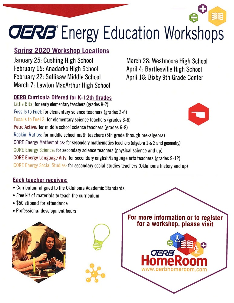 OERB Energy Education Workshops