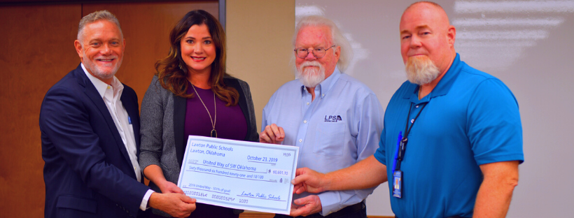 United Way Check Presentation
