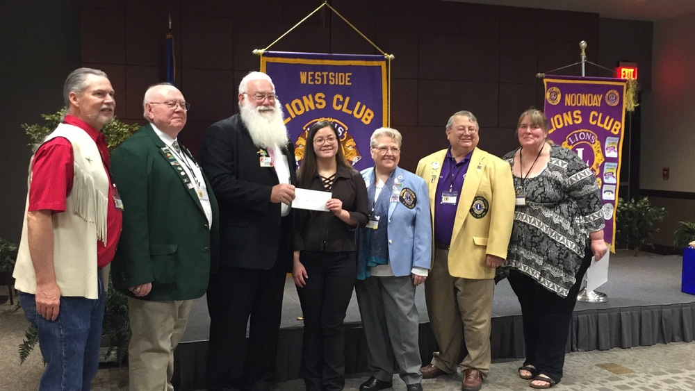 LHS Student wins Lions Club Speech Contest