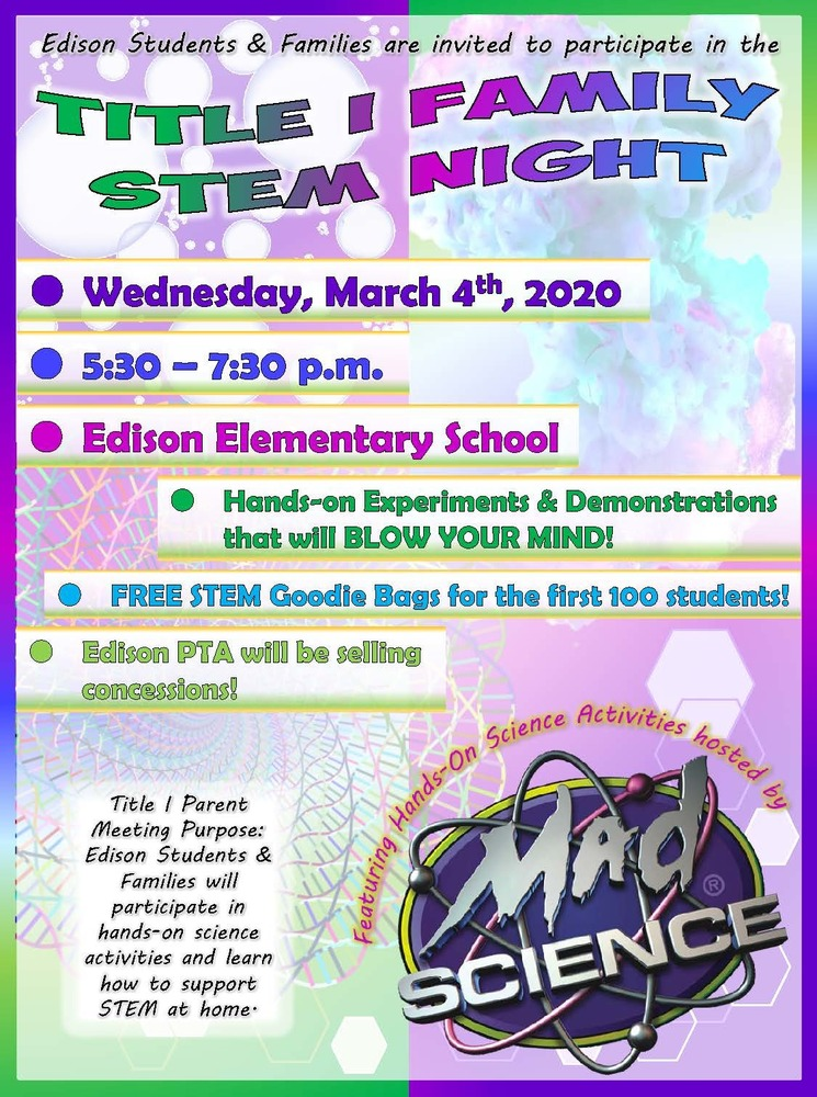 EDISON STEM NIGHT