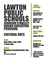 Indian Education Program: Cultural Days
