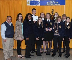 Lawton FFA Chapter headed to nationals