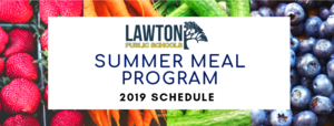 Summer Meal Program 2019