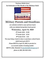 Military Parent Luncheon