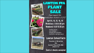 Lawton FFA Plant Sale