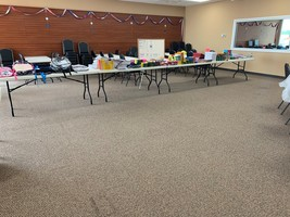 Bingo Country donates supplies