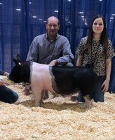 Lawton FFA Swine Show Team