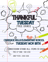 Thankful Tuesday Free Dance