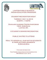 Indian Education Programs Student Recognition Night