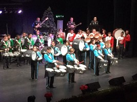 LPS Bands participate in Holiday Concert