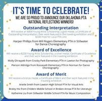 Oklahoma PTA National Reflections Winners