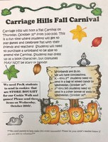 Carriage Hills Fall Carnival