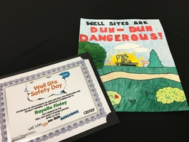 Duh-Duh-Dangerous Well Site Safety Poster Contest