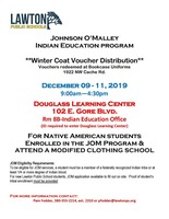 Indian Education Program: Winter Coat Vouchers