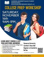 Free College Prep Workshop