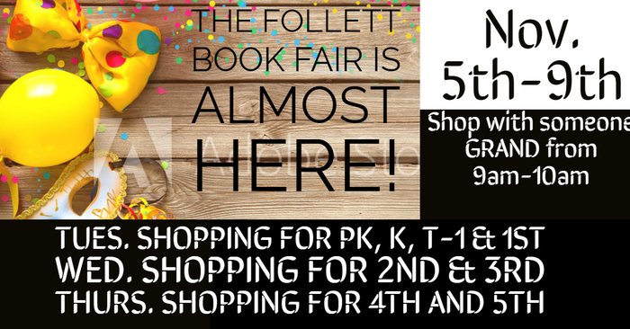 Follett Book Fair