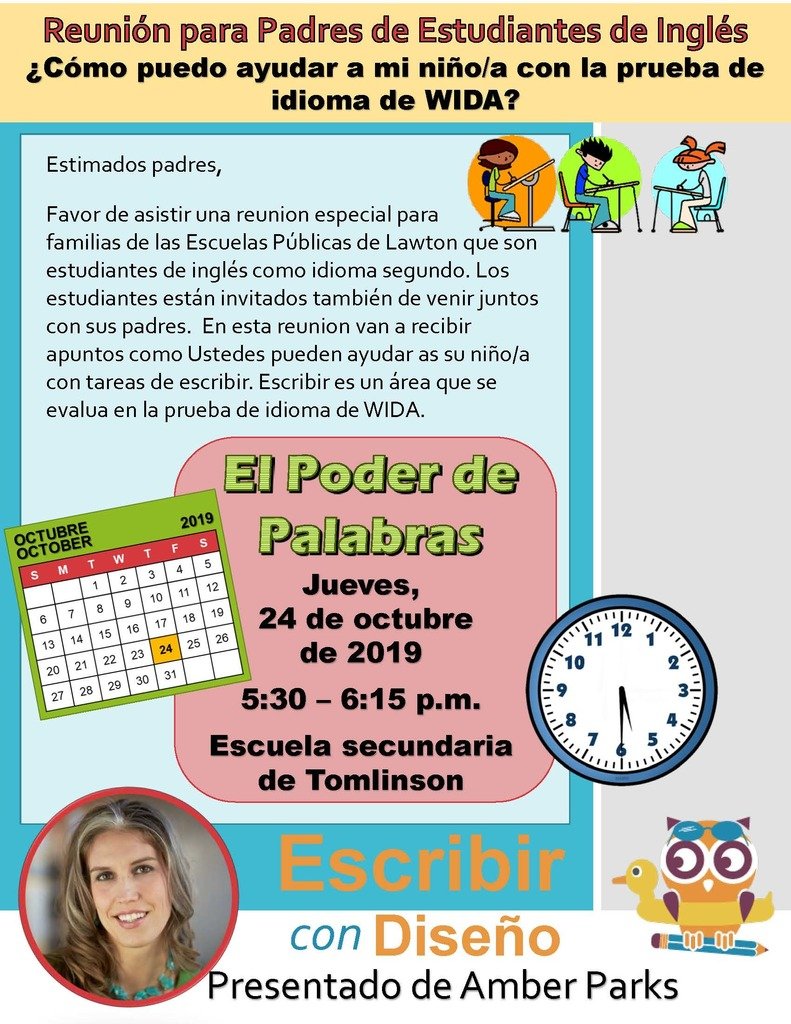EL Parent Meeting