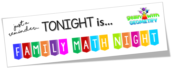 EES Family Math Night @ 5:30 p.m.