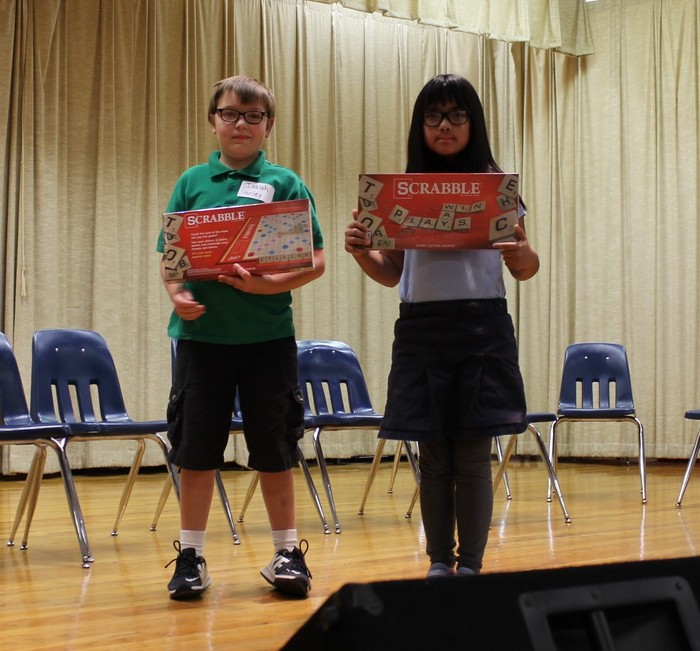 Hugh Bish Spelling Bee Winners