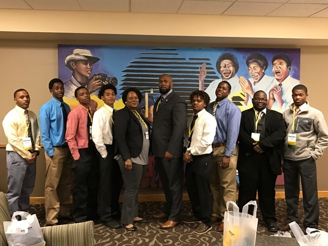 LHS Participates in Black Male Summit