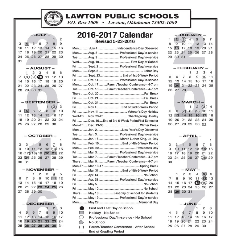 LPS End of School Schedule