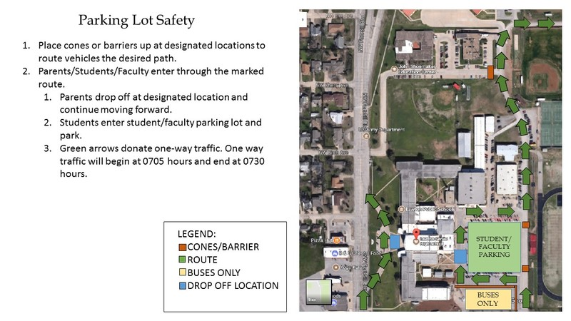 LHS Announces New Parking Lot Procedures