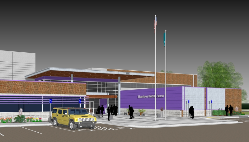 LPS Sets Eisenhower Middle School Groundbreaking Date