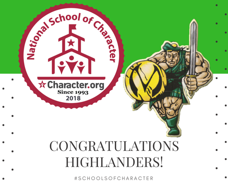 MacArthur High School designated as a 2018 National School of Character