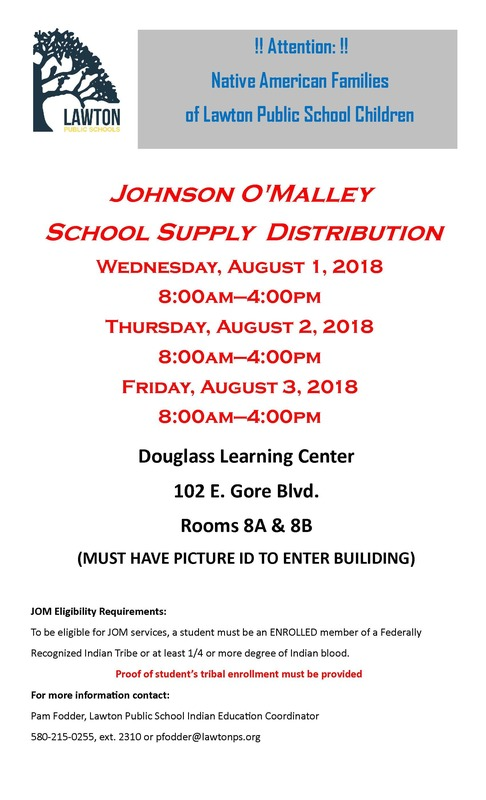JOM School Supply Distribution