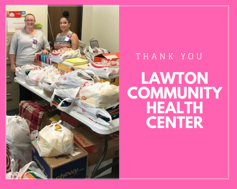 Thank you Lawton Community Health Center